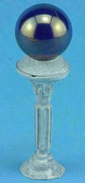 Dollhouse Miniature - MUL5342 - Gazing Ball - Blue