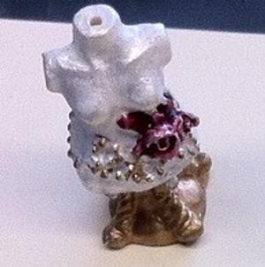 Dollhouse Miniature - 4140 - Dress Form - Decoration - Small