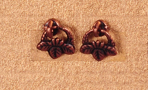 Dollhouse Miniature - DROP PULLS - ANTIQUE COPPER - S1491