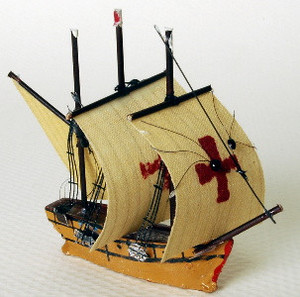 **DISCONTINUED** - RA0307 - Spanish Galleon #2  Ship -  1-1/2""