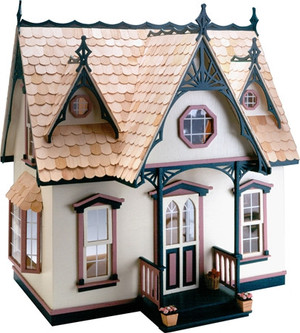 Dollhouse Kit - Greenleaf/Corona Concepts  -DH9301 - Orchid - Front