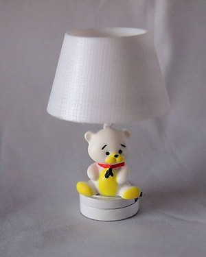T25 - Battery LED - Teddy Bear Nursery Light