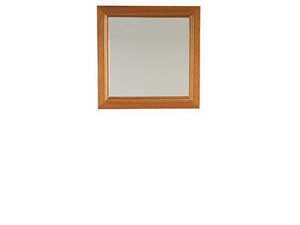 Dollhouse Miniature Wall Mirror - Walnut - T6770