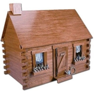 Dollhouse Kit - Greenleaf/Corona Concepts - DH9308 - Shadybrook Cabin