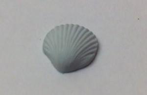 Dollhouse Miniature - 7871 - Sea Shell Soap - Green