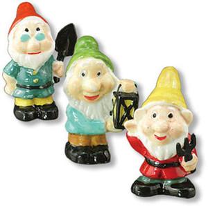 MC18236 - MC18238 - 3 Garden Gnomes