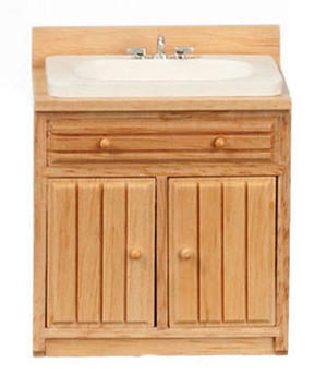 T4130 - Modern Sink - Oak