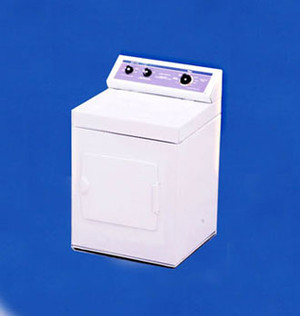 Dollhouse Miniature - L0051 - CLOTHES DRYER - WHITE - METAL