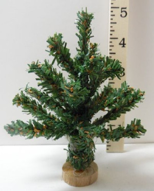"Dollhouse Miniature - 4"" Christmas Tree - T0844A"