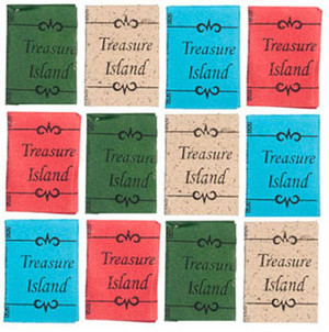 Dollhouse Miniature - G8543 - Treasure Island Books - Pkg/12