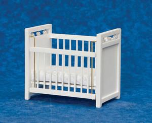 AZT6048W - Crib, White