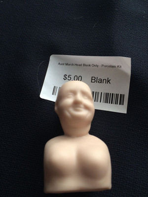 Doll Blank - Aunt March Head Blank Only