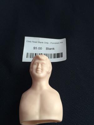 Doll Blank - Elvis Head Blank Only