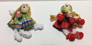Dollhouse Miniature - 09233 - Raggedy Doll - Plaid