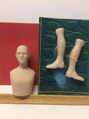 Doll Blank - David Head and Legs