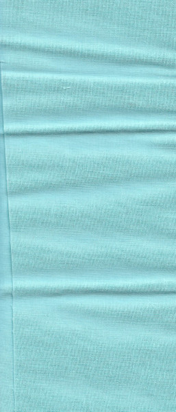 "10011-15 Fabric:  Light Teal- 11"" x 21"""
