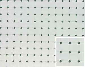 "FF60646 - Tile - Diamond - Teal - 11"" x 15-1/2"""