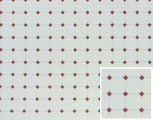 "FF60647 - Tile - Diamond - Terra Cotta - 11"" x 15-1/2"""