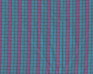 """4190100 - Blue with Pink and Black lines - 18"""" x 6"""""""