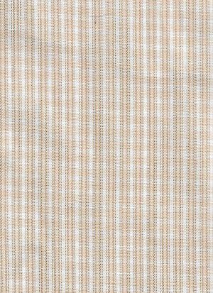4190101 - Fabric: White with Beige Lines