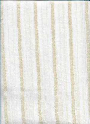"4190115 - Cream with Cream Stripes - 12"" L x 6"" W"