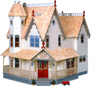 Dollhouse Kit - DH8011 - The Pierce Dollhouse Kit