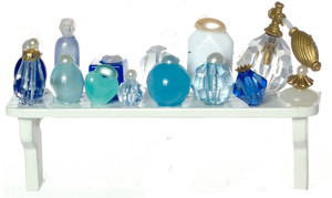 FA52091 - COSMETICS/LONG SHELF/BLUE
