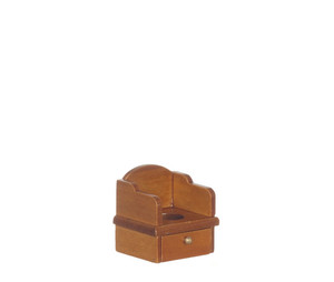 T6234 - POTTY CHAIR/WALNUT