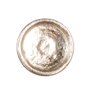 "MA0801 - Small Metal Dish - 1:24 Scale (1/2"" Scale)"