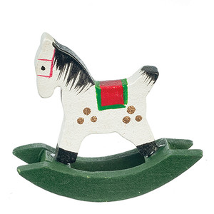 B1827 - Wooden Rocking Horse