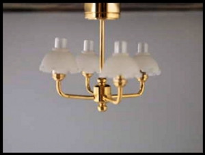 C5 S - Riverside Dollhouse Lamp-Battery