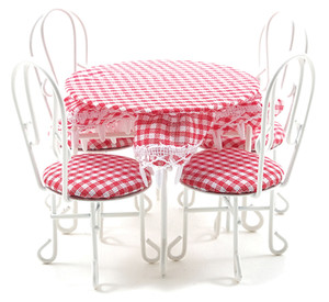 CLA03750 - Patio Table and 4 Chairs