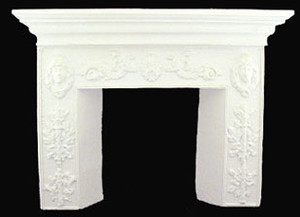 UMF1 - Fireplace - White