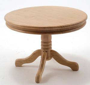CLA10229 - Pedestal Table - Round - Oak