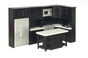 T5826 - Kitchen Set - Black