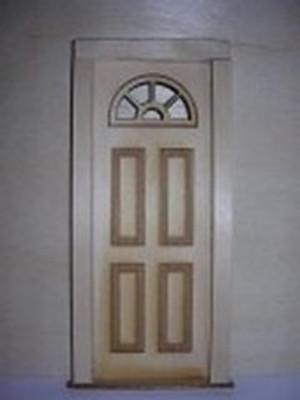 2303 - Half Circle Top Door
