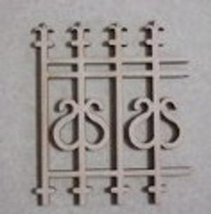 173 - Heart Fence - Pkg/4