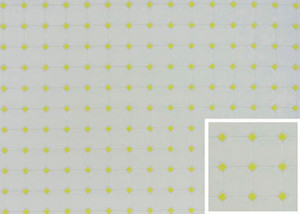 "FF60651- Tile - Diamond - Yellow - 11"" x 15-1/2"""