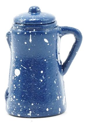 IM65079 - Coffee Pot - Blue Spatterware