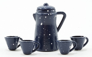 IM65200 - Coffee Pot Set - Spatterware