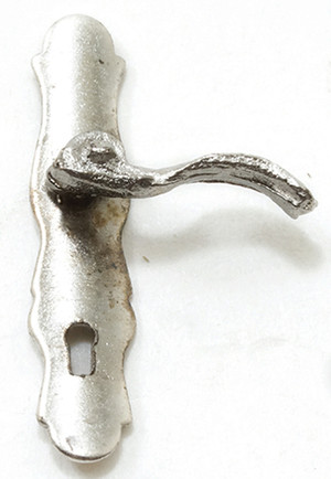CLA05582 - French Door Lever - Pewter