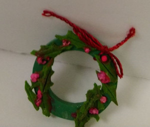 Wreath - Clay