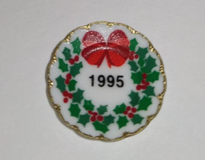 Plate - Decorative - 1995 Christmas