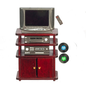 G0901M - Entertainment Unit - Mahogany