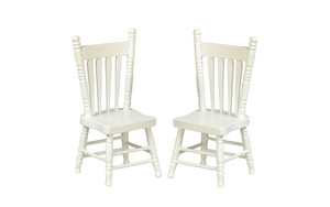 GA10905W - Kitchen Chairs - White - Pkg 2