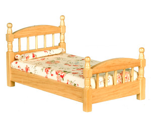 T4330 - Single Bed - Oak