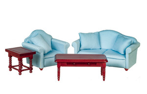 GA0424B - Living Room Set - Blue