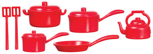 G6208 - Pot Set - Red