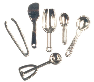 G8225 - Silver Kitchen Utensils