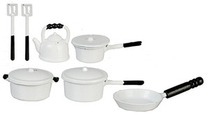 G6103 - Metal White Kitchenware